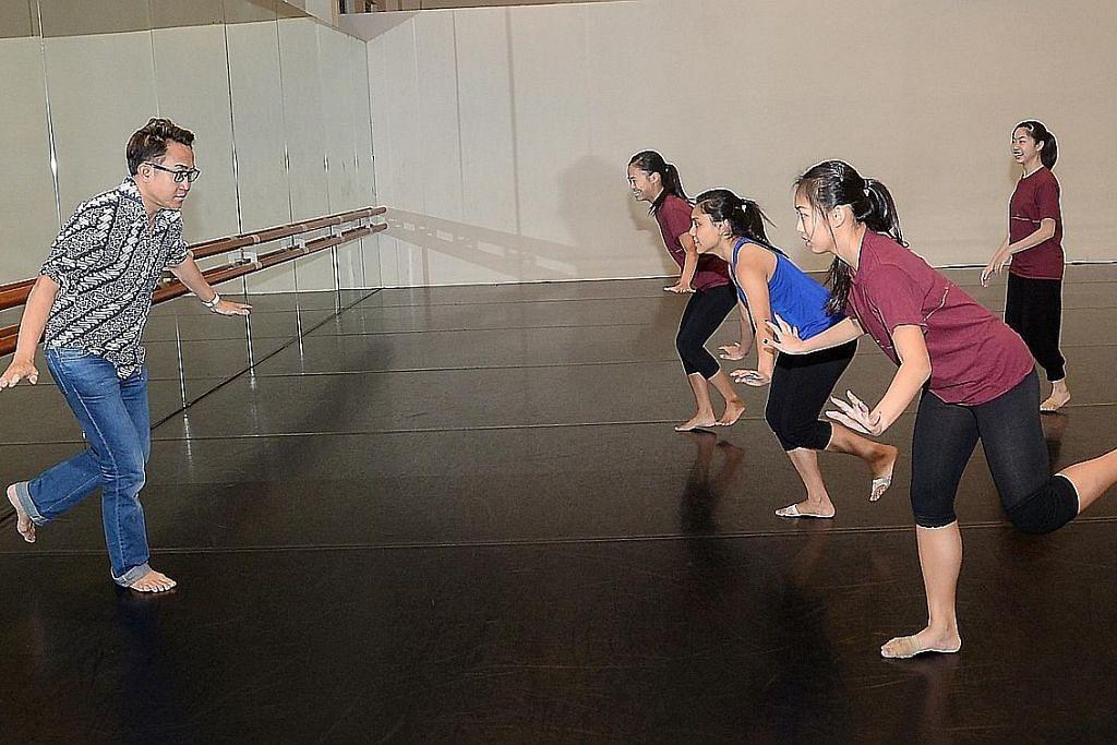 Banyak peluang 'GOT TO MOVE' untuk sekeluarga menari