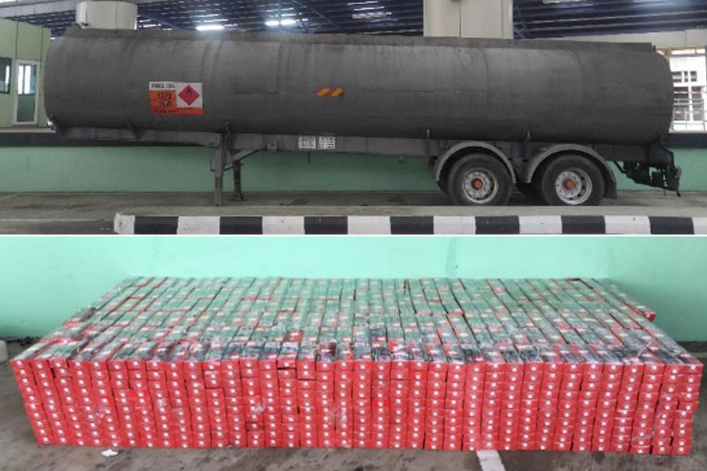 Lelaki M'sia cuba seludup lebih 2,000 karton rokok