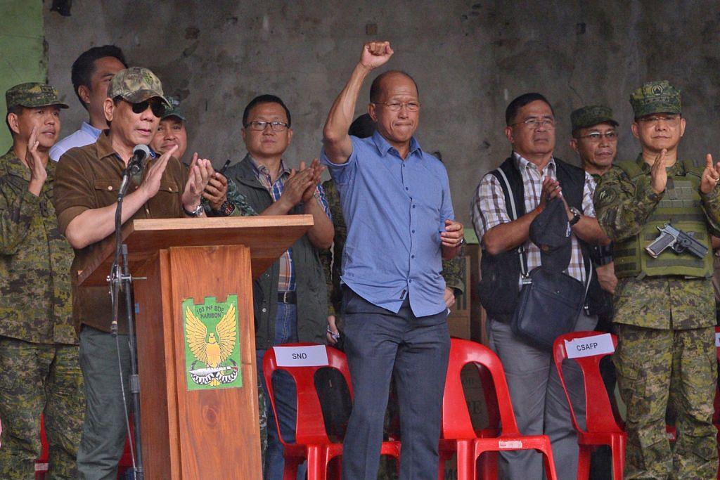 Duterte isytihar Marawi bebas daripada pengganas