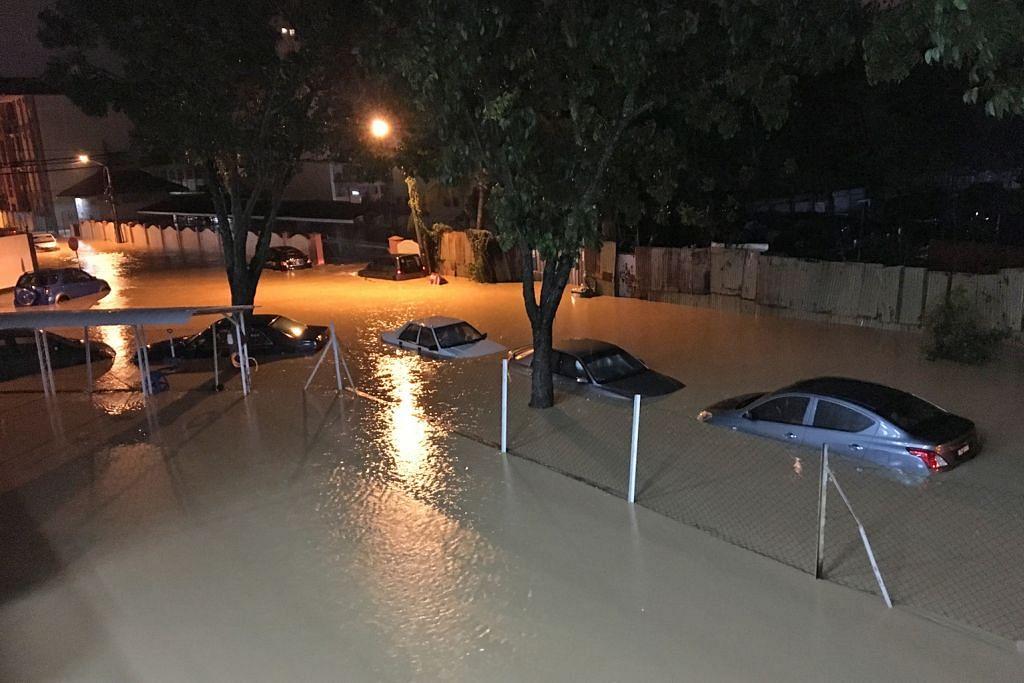Banjir akibat hujan berterusan lumpuhkan Pulau Pinang