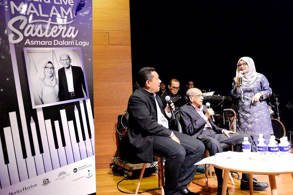 Suara Sanisah Huri, cerita Yusnor Ef buat penonton terhibur