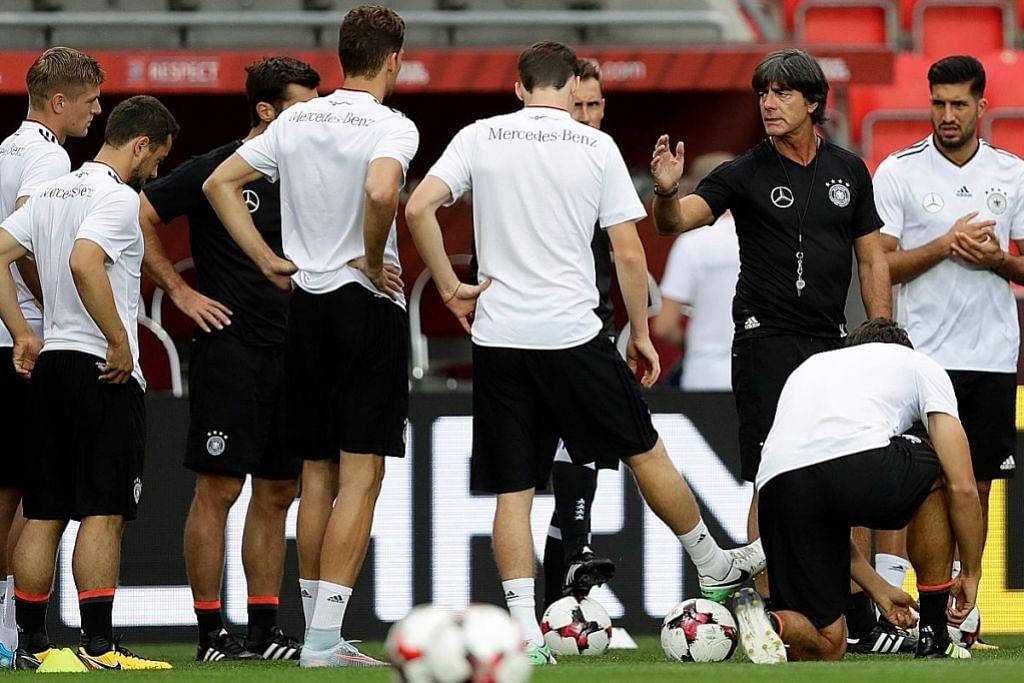 Pilihan Southgate makin terhad, tetapi Jerman awasi keupayaan England