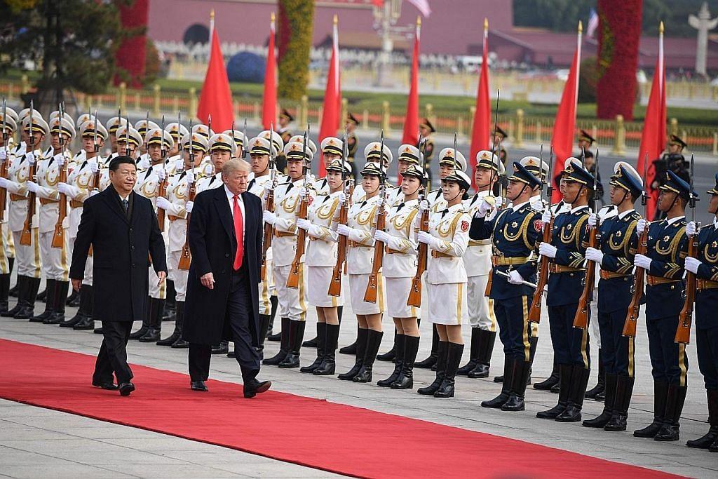 Sambutan 'sangat istimewa' buat Trump