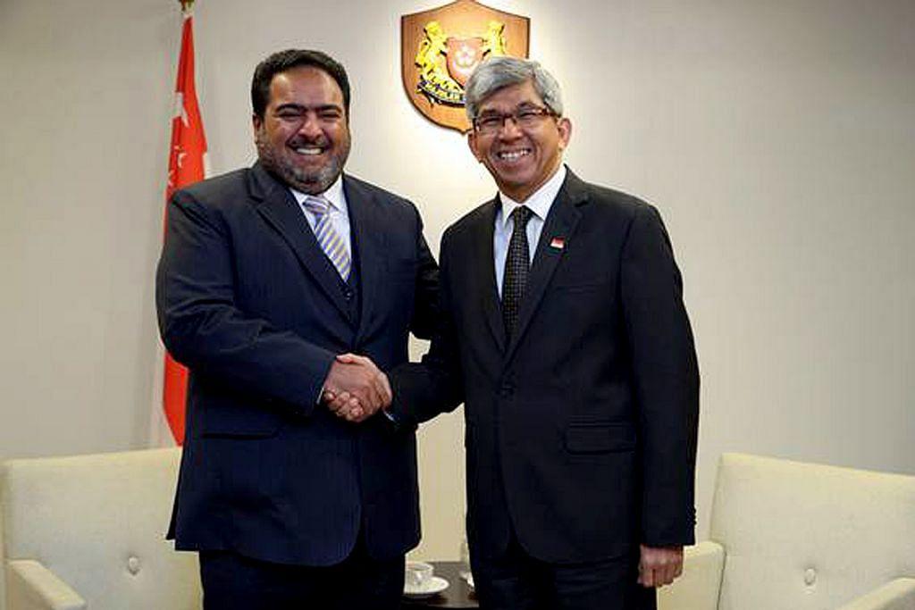 Kuwait, Singapura jalin hubungan lebih kukuh, teroka kerjasama