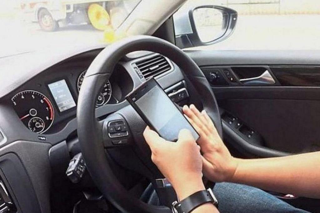 M'sia kenakan denda RM300 bagi kesalahan guna telefon semasa memandu