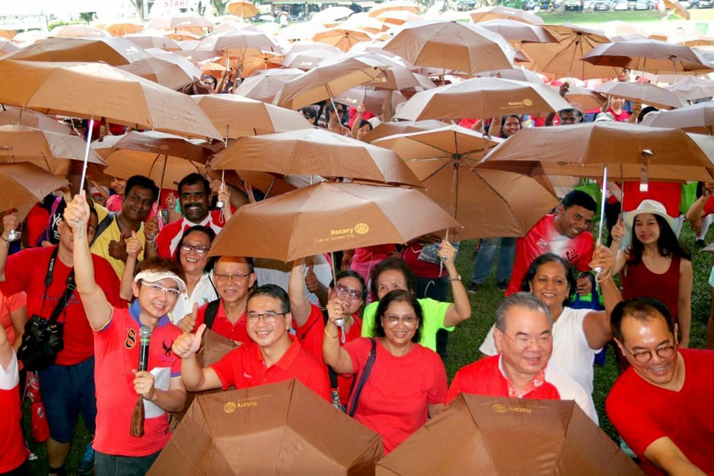 Acara jalan amal jaya raih 30,000 mangkuk beras
