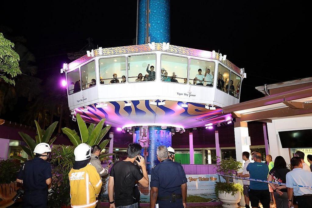 Tiger Sky Tower di Sentosa akan dibuka semula selepas insiden yang sebabkan 39 orang terkandas