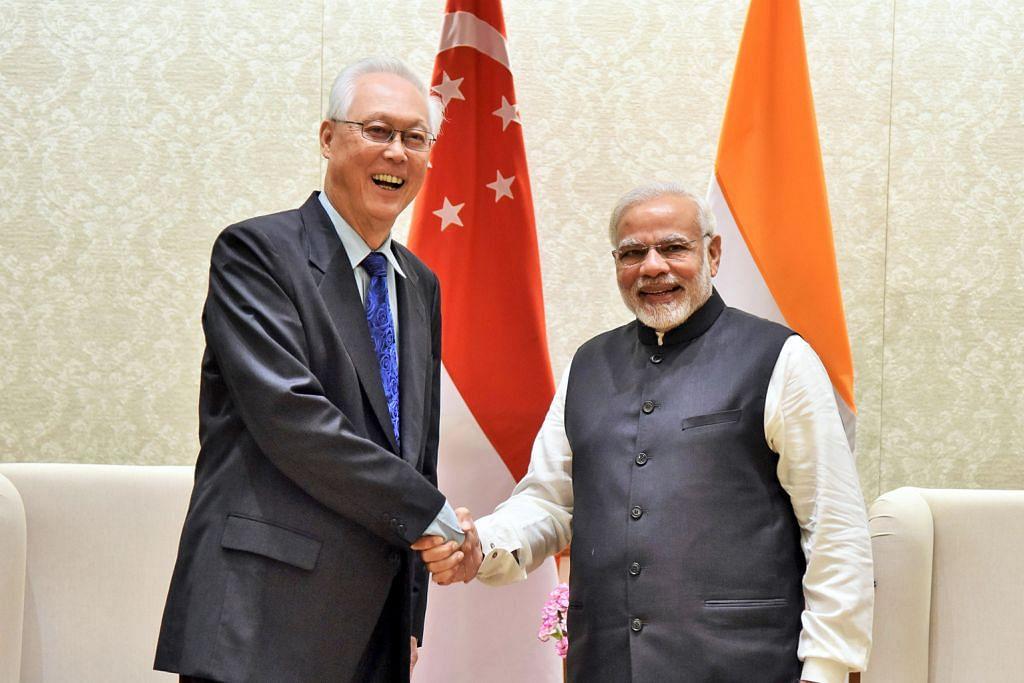 Pertemuan ESM Goh, PM Modi perkukuh hubungan S'pura-India