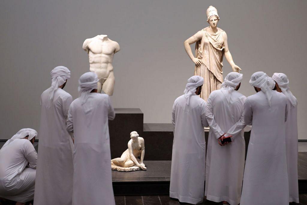 'Cawangan' muzium Louvre dibuka di Abu Dhabi