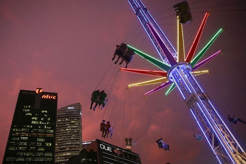 Tarikan karnival terbesar di Marina Bay