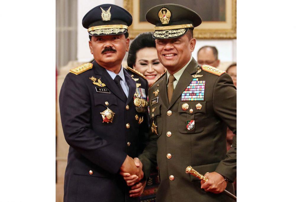 Panglima baru batal rombakan besar dalam tentera Indonesia