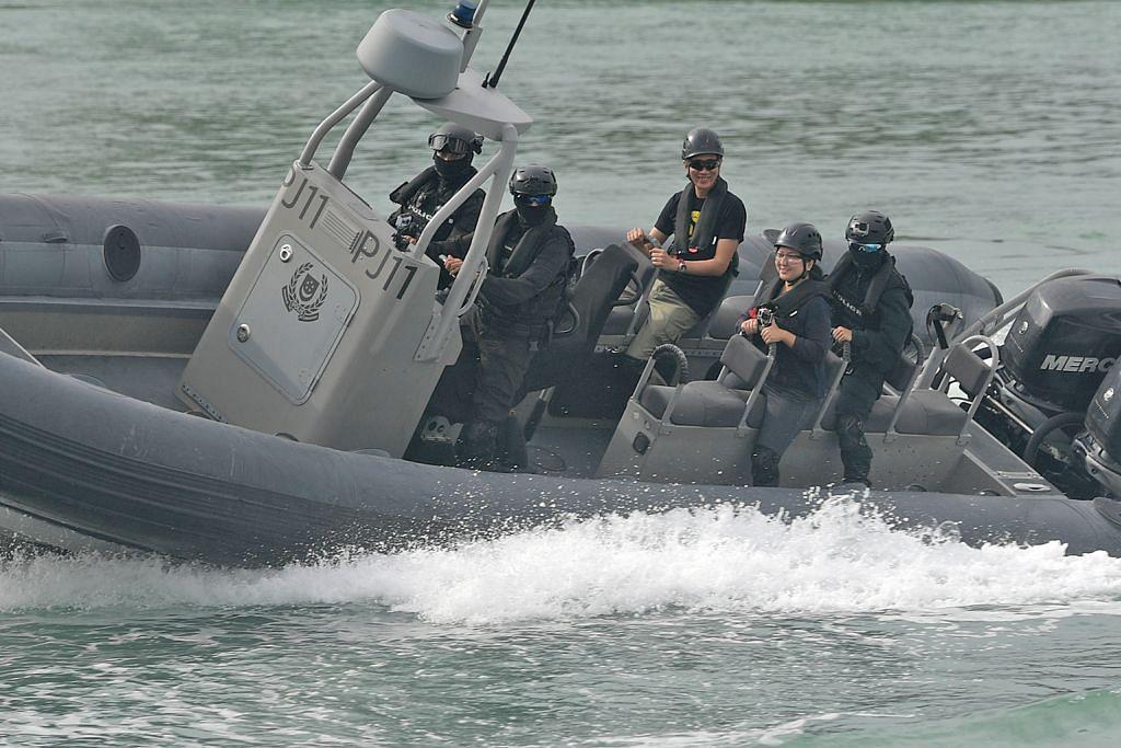 Polis Pengawal Pantai laku aksi risiko tinggi untuk 'cegah penjenayah'