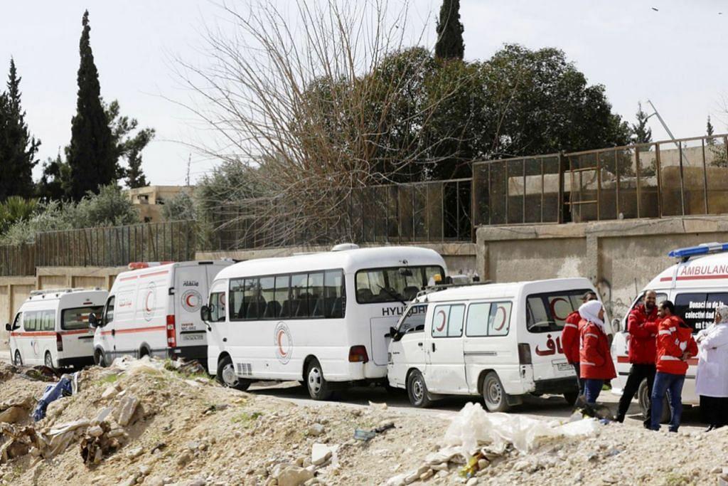 Penduduk Ghouta belum dapat dibantu