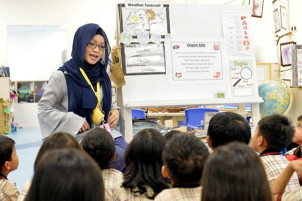 BAHASA IBUNDA DI PRASEKOLAH: Lebih ramai guru bahasa ibunda diperlukan untuk menyokong pertumbuhan sektor tersebut.