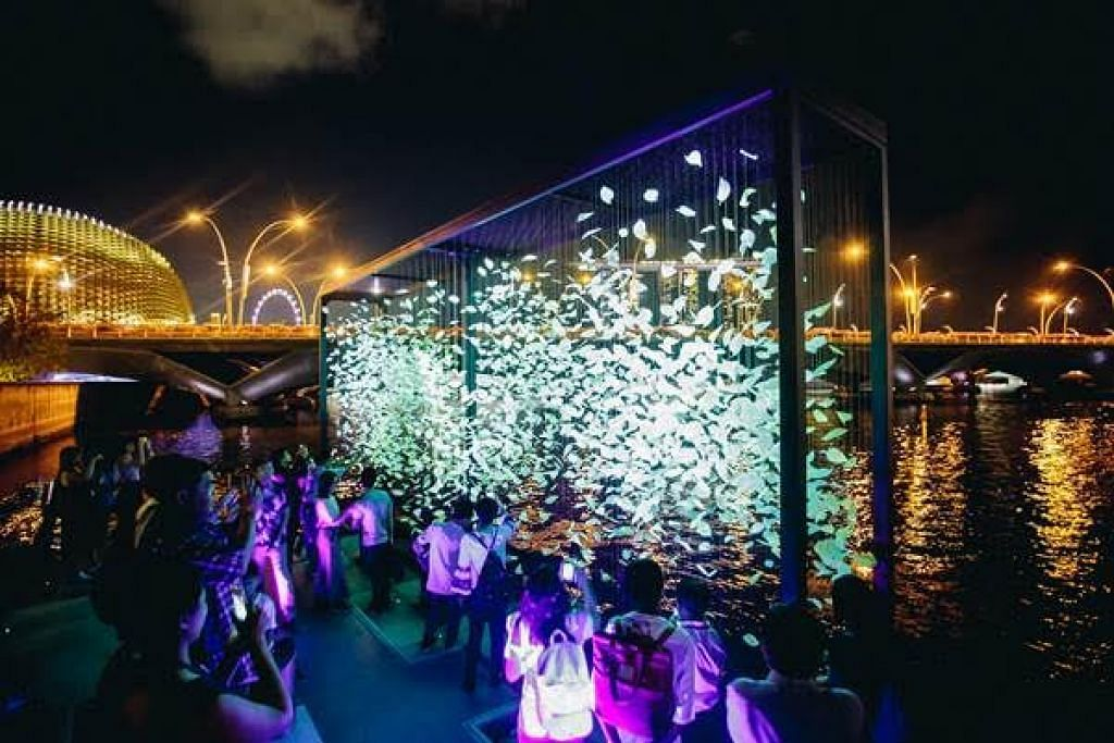 FOTO: i Light Marina Bay