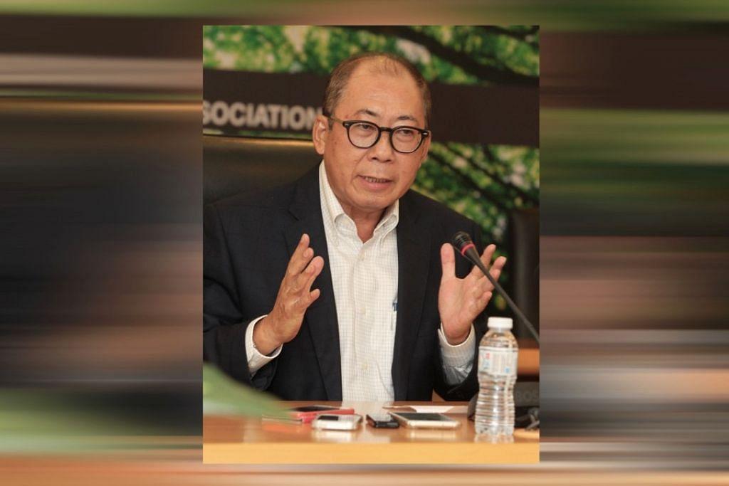 Pengerusi lembaga disiplin MCA, Tan Sri Chor Chee Heung.
