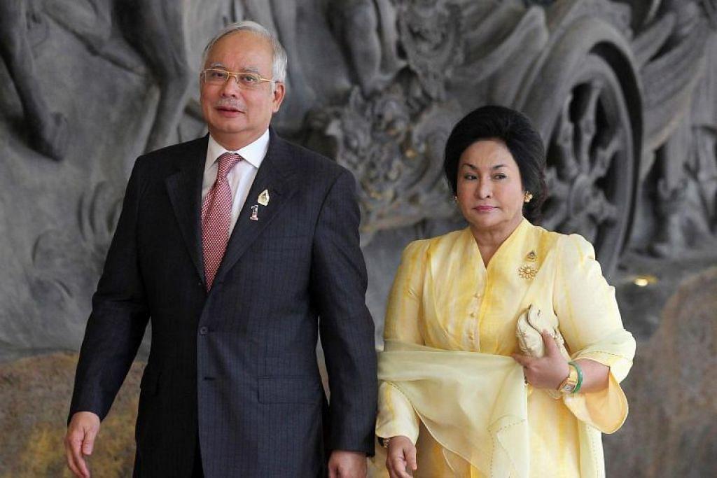 DILARANG KE LUAR NEGARA: Mantan PM Malaysia, Datuk Seri Najib Tun Razak, dan isterinya disenarai hitamkan daripada keluar negara oleh Jabatan Imigresen Malaysia.