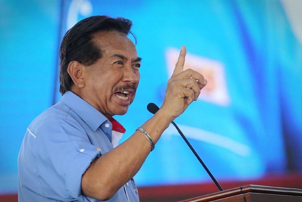 Tan Sri Musa Aman, pengerusi Barisan Nasional (BN) Sabah.