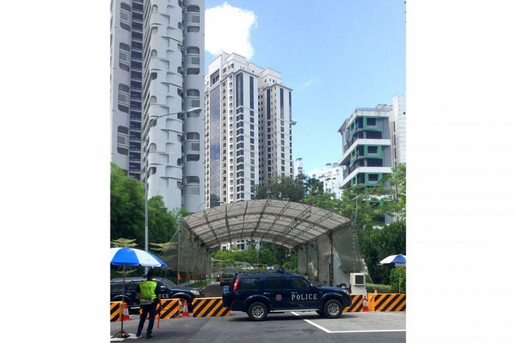 KAWALAN KETAT: Pihak berkuasa akan menjalankan kawalan keselamatan di sekitar kawasan Hotel Shangri-La sempena anjuran Dialog Shangri-La dari Jumaat hingga Ahad ini - Foto fail