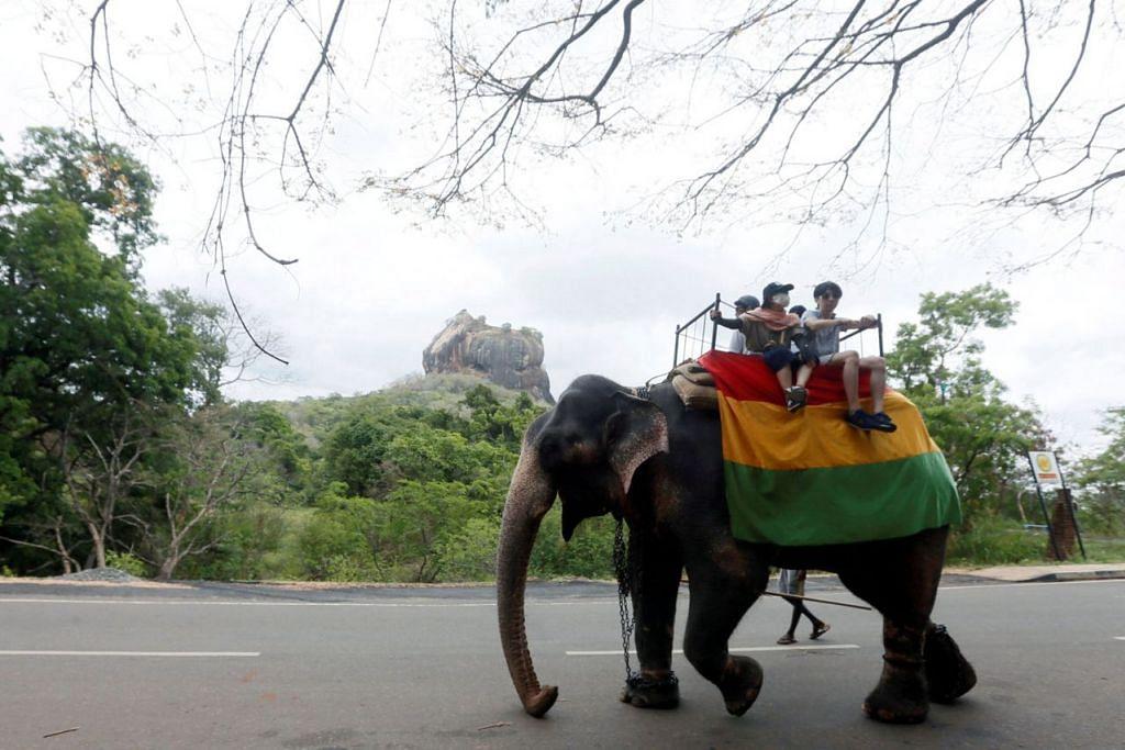 INGIN TARIK PELAWAT CHINA: Sri Lanka kini berusaha mempromosikan negara itu sebagai destinasi yang dapat menarik pelancong dari China. - Foto REUTERS