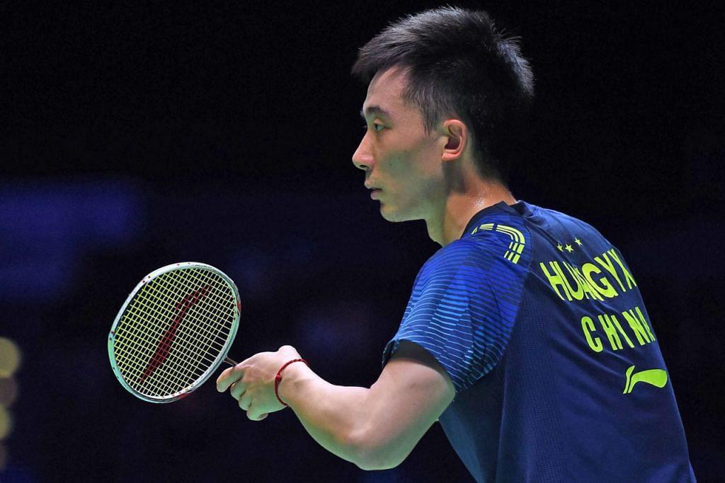 Antara pemain handalan dunia yang akan mengambil bahagian ialah pilihan dunia ke-30 dari China, Huang Yuxiang (atas). - Foto AFP