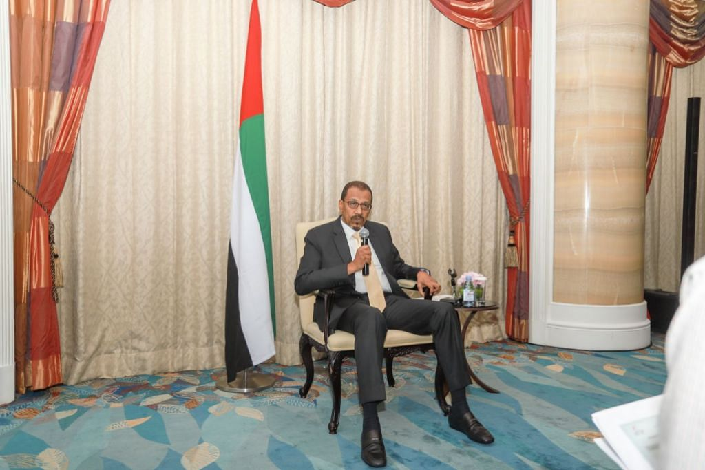 KRISIS DI YAMAN: Duta UAE ke Singapura, Dr Mohammed Omar Abdalla Balfaqeeh, berkata keprihatinan UAE dan pakatan berbilang negara yang turut dianggotainya, adalah untuk menangani krisis kemanusiaan yang kian ketara di Yaman.