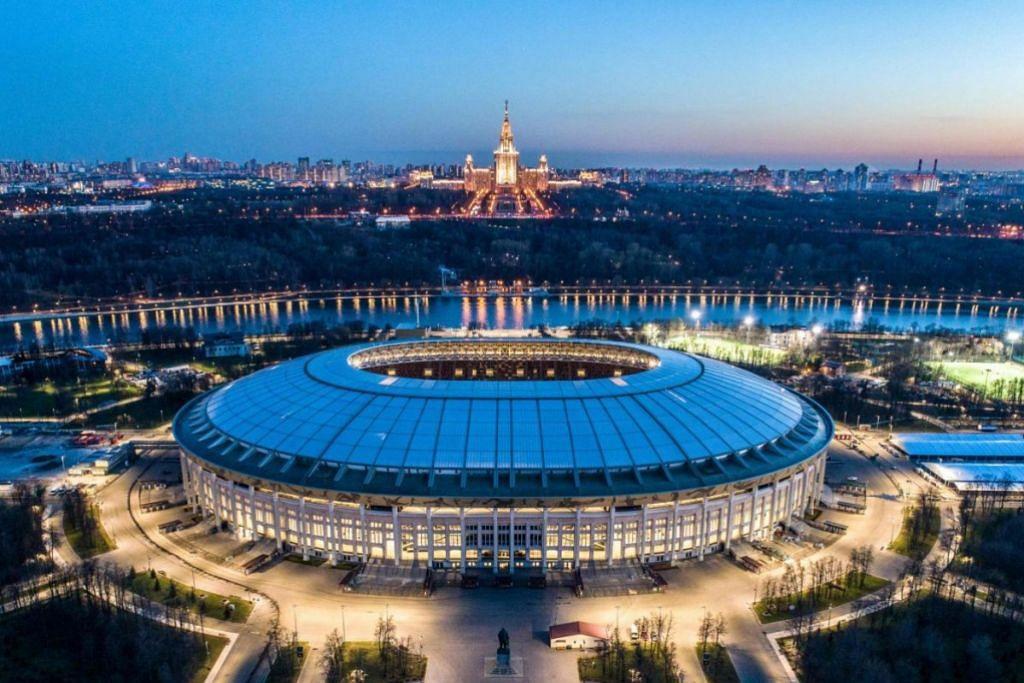 STADIUM LUZHNIKI: Stadium di Moscow ini boleh menampung 81,000 orang.
