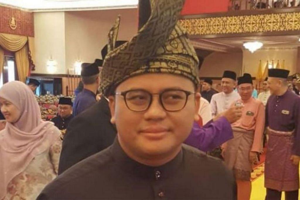 MB SELANGOR: Encik Amirudin Shari mengangkat sumpah menjadi Menteri Besar baru Selangor hari ini.