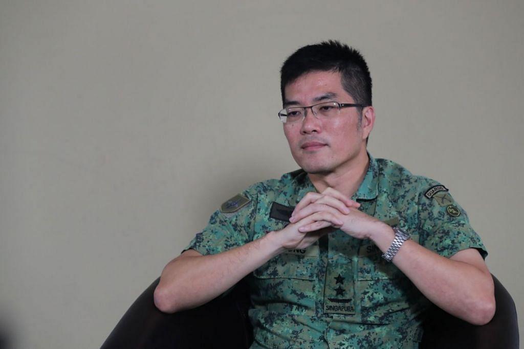 CADANG PENINGKATAN: Panglima Pasukan Pertahanan Melvyn Ong mendedahkan bahawa satu semakan luar berhubung kematian seorang NSF 19 tahun menyarankan peningkatan dalam dua bidang tumpuan utama iaitu pencegahan dan respons terhadap strok haba.