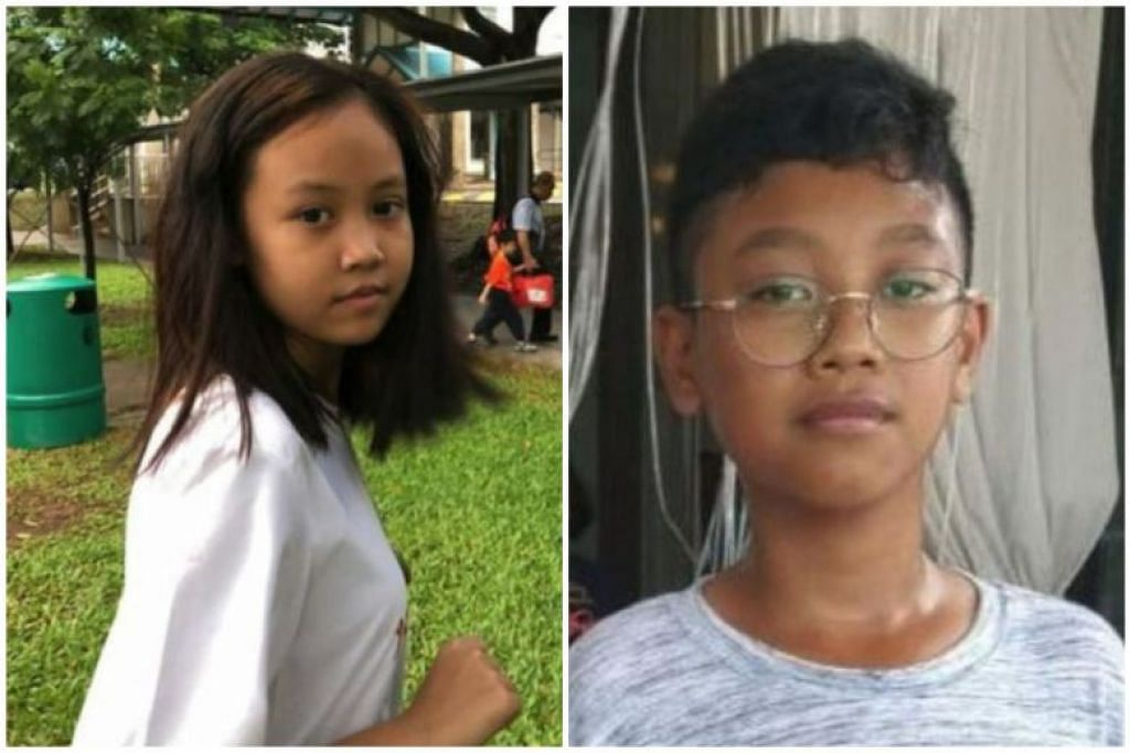 BUDAK HILANG: Rachael Tan (kiri) kali terakhir dilihat pada 14 Jun lalu manakala Anaqi Binish kali terakhir dilihat semalam.