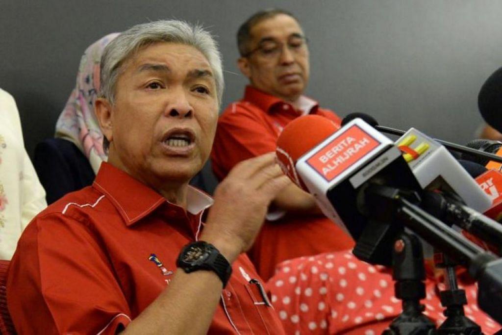 Former Malaysian DPM Zahid wins Umno presidential race