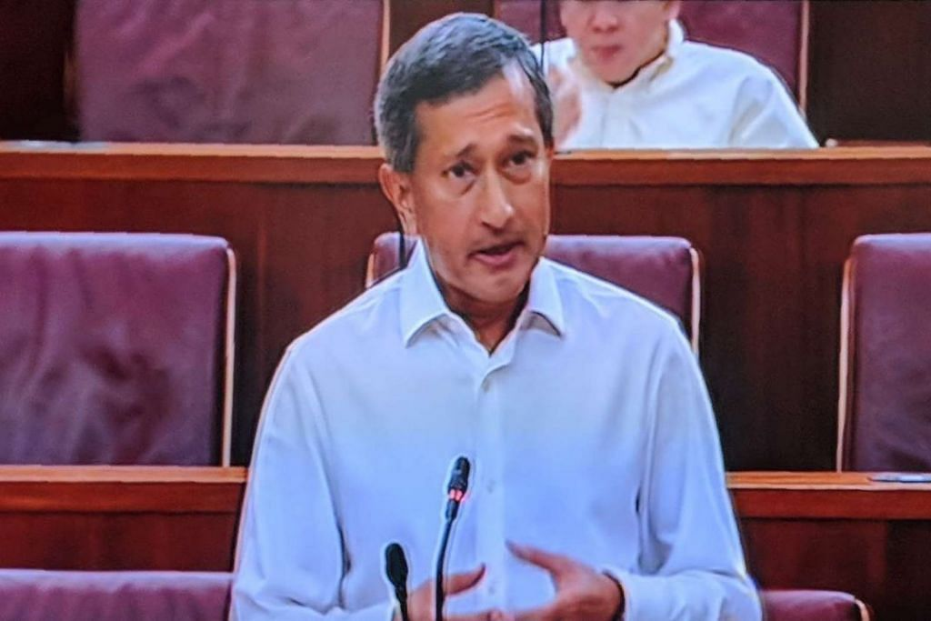 Parliament: A stable and prosperous Malaysia is good for Singapore and for the region, says Foreign Minister Vivian Balakrishnan