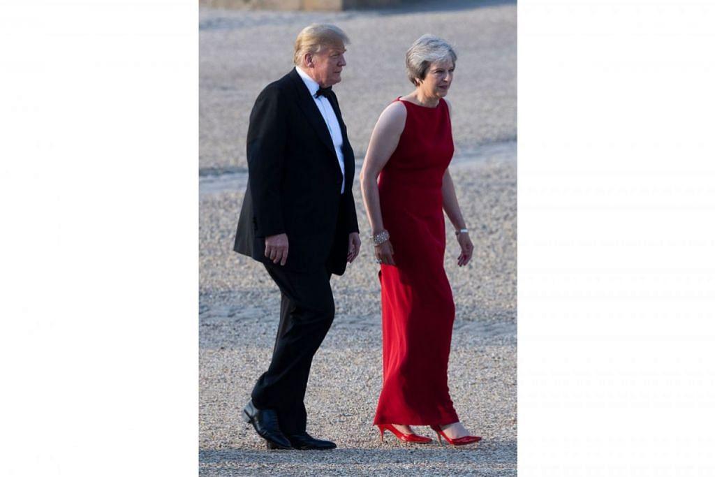 Trump: Perjanjian dagangan bebas dengan London 'mungkin mustahil'