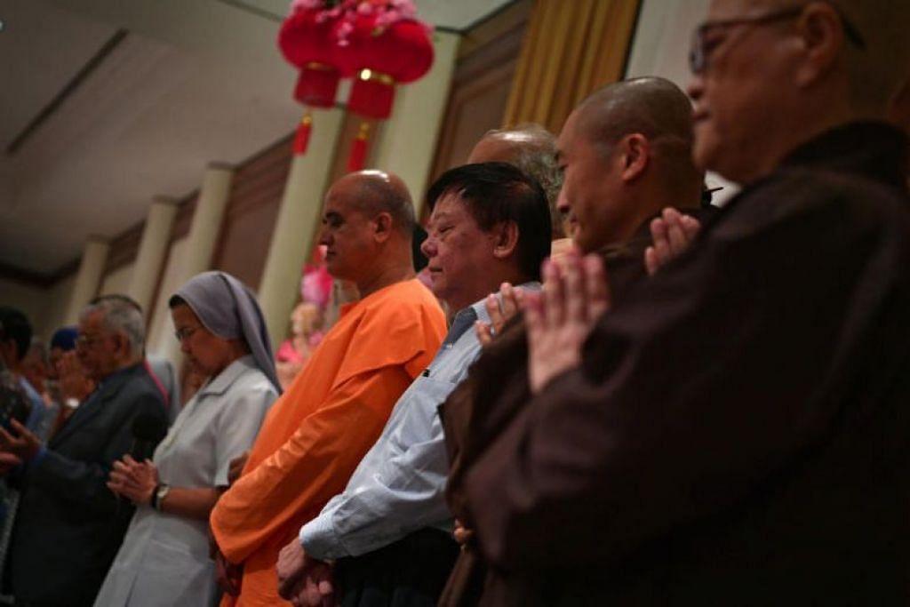 Presiden Halimah Yacob cetuskan idea pada Mei 2018 mengadakan dialog peringkat tinggi mengenai harmoni antara agama yang serupa dengan Dialog Shangri-La tahunan.
