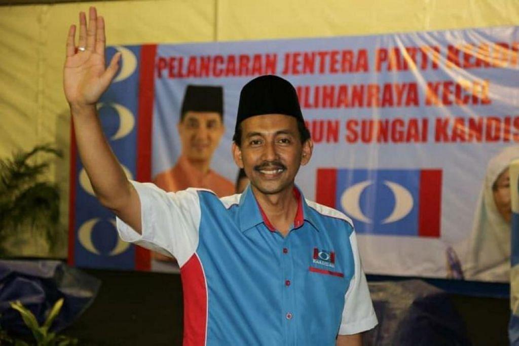 Encik Mohd Zawawi Ahmad Mughni calon Parti Keadilan Rakyat (PRK) bagi pilihan raya kecil Sungai Kandis.
