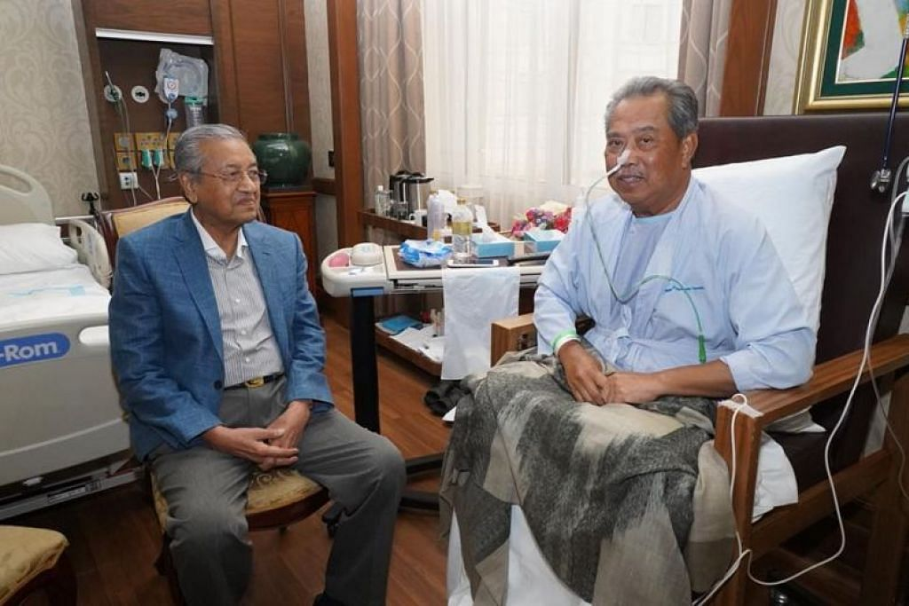 Malaysia's Home Minister Muhyiddin Yassin recovering in Singapore hospital after surgery