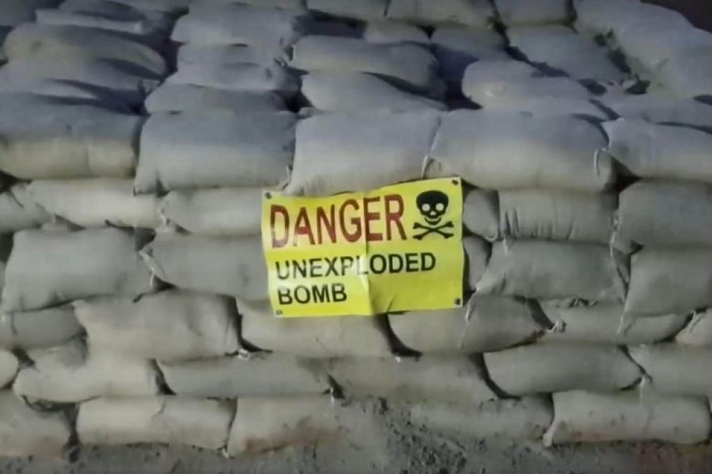 SAF team detonates war relic at Woodlands construction site