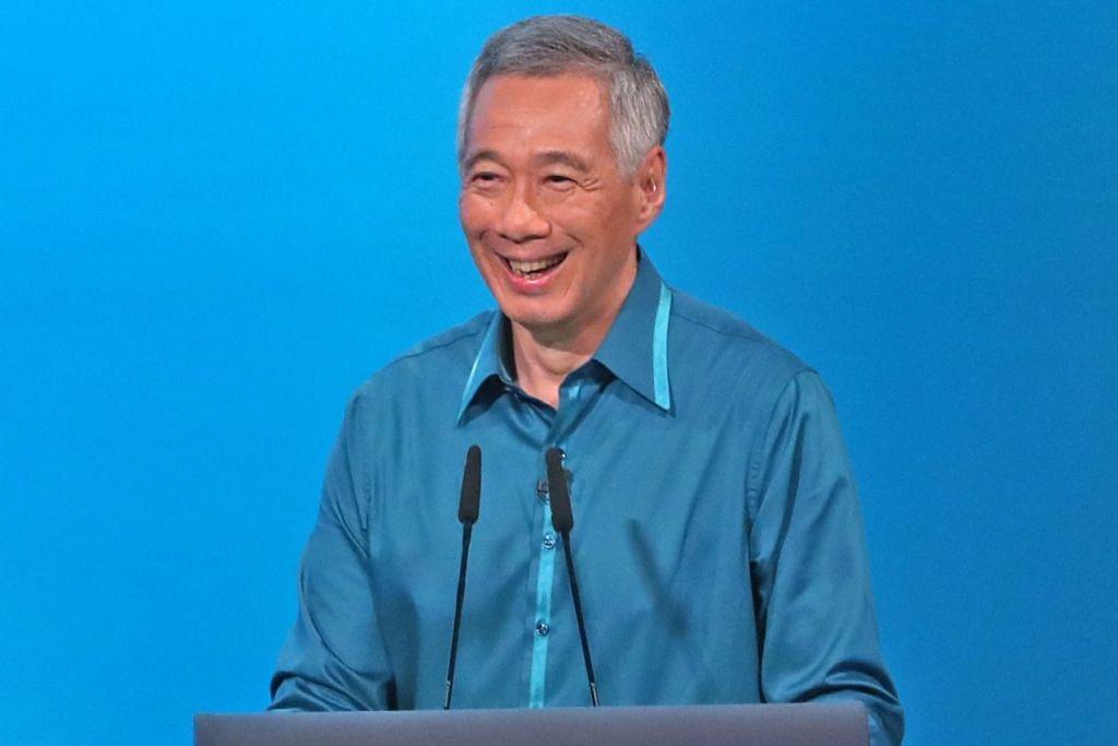 PEMBAHARUAN FLAT HDB: Perdana Menteri Lee Hsien Loong mengumumkan pelbagai skim perumahan termasuk inisiatif yang menaik taraf flat HDB sebanyak dua kali semasa tempoh pajakan. - Foto BH oleh GAVIN FOO