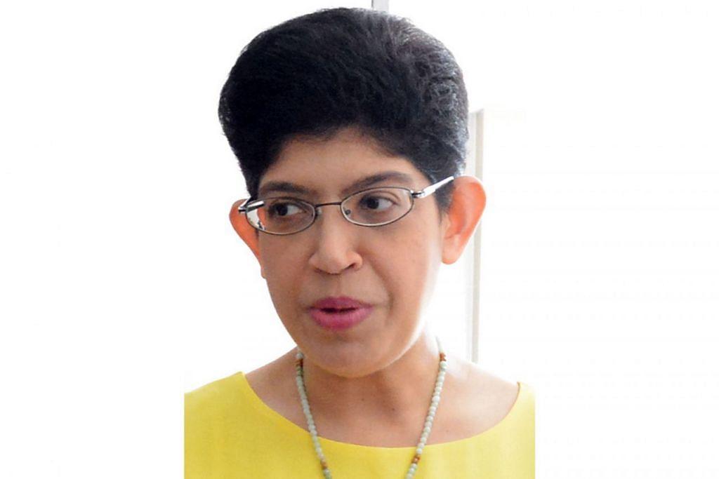 Anggota Parlimen (AP) GRC Marine Parade, Profesor Madya Fatimah Lateef