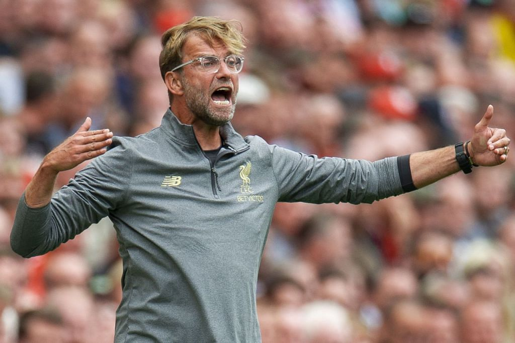 TERUSKAN KEMENANGAN: Liverpool di bawah kepimpinan pengurusnya, Jurgen Klopp mahu meneruskan kemenangan dan menjadi ancaman utama kepada penyandang juara, Manchester City dalam musim kali ini. - Foto REUTERS