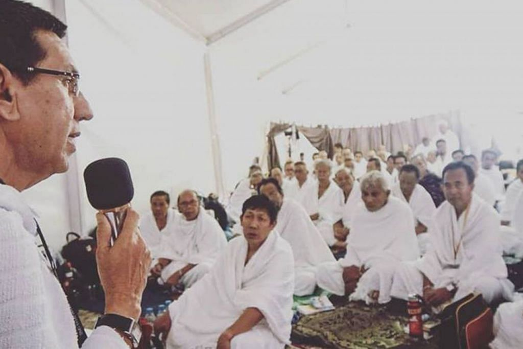 Ketua rombongan haji Singapura tahun ini ialah Presiden Muis, Haji Mohammad Alami Musa. Beliau akan berada di Arab Saudi hingga hujung bulan ini.