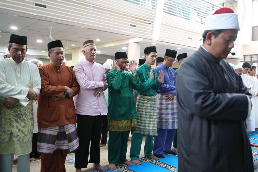 Aidiladha prayers at Al-Mawaddah Mosque