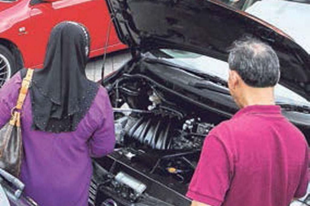 Responden setuju bayar salah satu kos pembaikan kereta