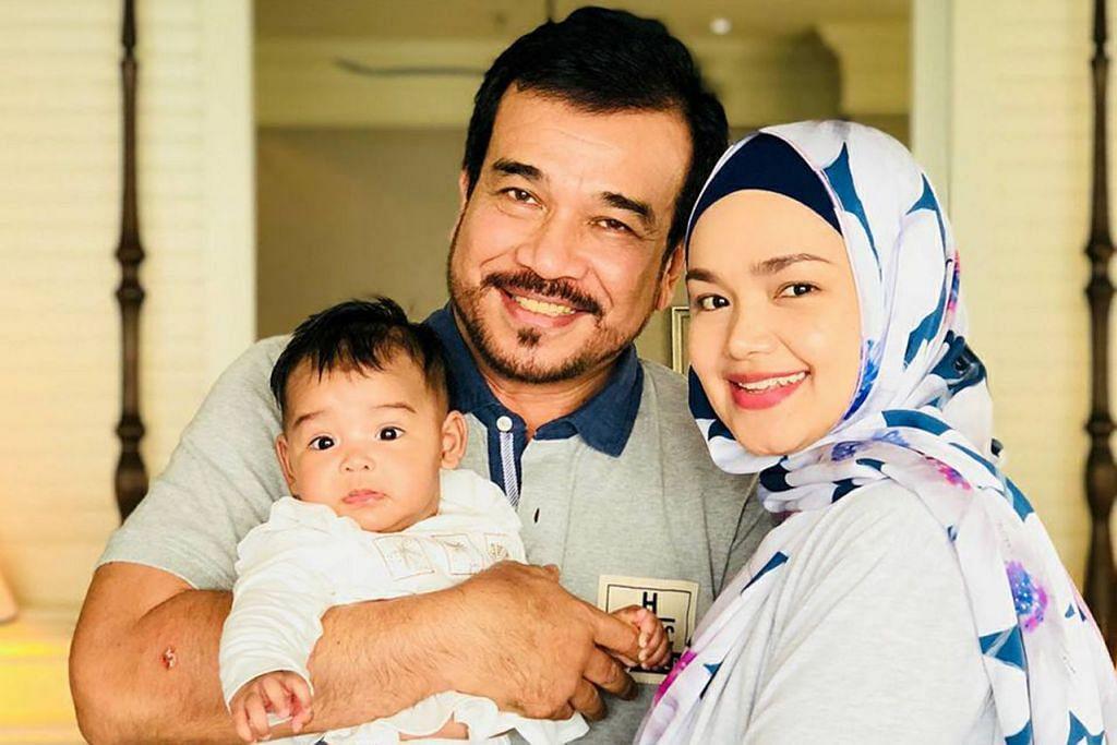 BERTAMBAH BAHAGIA: Kehadiran Siti Aafiyah, anak sulung pasangan Siti Nurhaliza dan Datuk K ini, menambahkan lagi kebahagiaan rumah tangga mereka. - Foto FACEBOOK SITI NURHALIZA