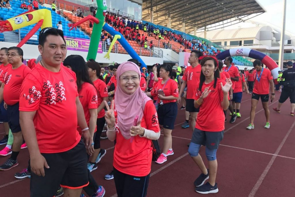 Run for Inclusion 2018 at Bishan Stadium