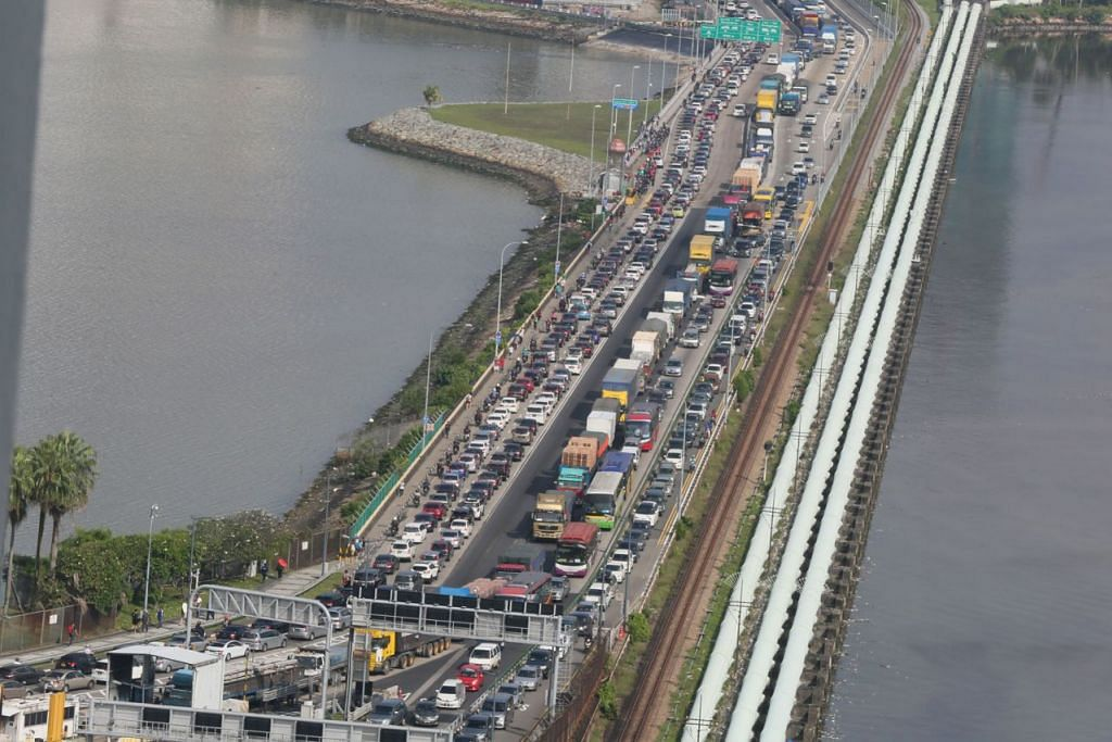 Image result for tambak johor ke singapura