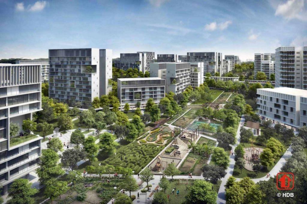 Ladang berukuran 700 meter x 40 meter di tengah-tengah Daerah Plantation akan menghubungkan penduduk dengan kemudahan utama di Bandar Tengah.