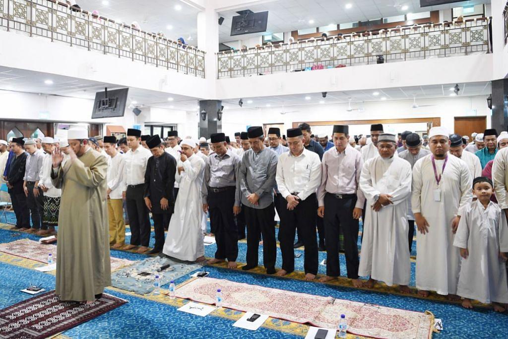 Awal Muharram celebrations at Al Khair Mosque in Choa Chu Kang.