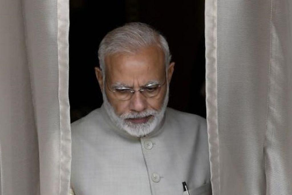 Perdana Menteri India, Narendra Modi. - Foto AFP