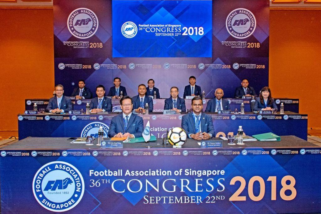 foreign talent scheme football association of singapore (FAS)